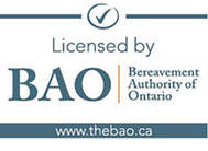 Bereavement Authority of Ontario Logo